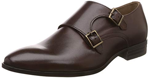 Louis Philippe Men's Tan Leather Formal Shoes