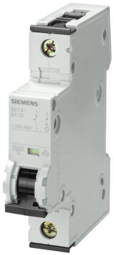 Siemens 5sy41167Supplementary Protector, UL 1077nominale, 1Pole coupe-circuits, 16Ampère maximale, DE Trébucher Caractéristique C, monté sur rail DIN