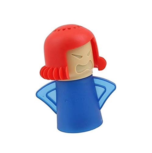 Detergente for Microonde Angry Mama Pulisce Facilmente Gli Apparecchi for La Pulizia A Vapore del Forno A Microonde for La Cucina Pulizia del Frigorifero Easy to Use (Color : Blue)