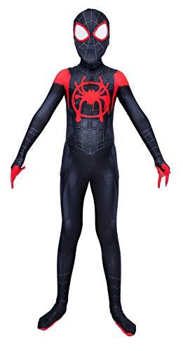 Riekinc Superhero Zentai Bodysuit Halloween Adult/Kids Cosplay Costumes Kids XL