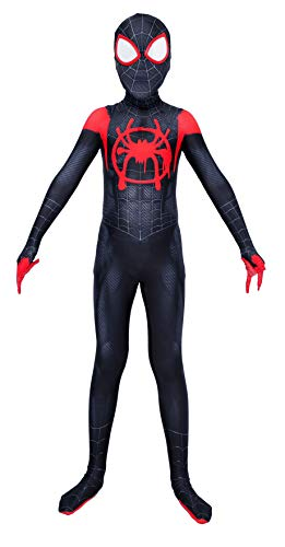 Riekinc Superhero Zentai Bodysuit Halloween Adult/Kids Cosplay Costumes Kids XL
