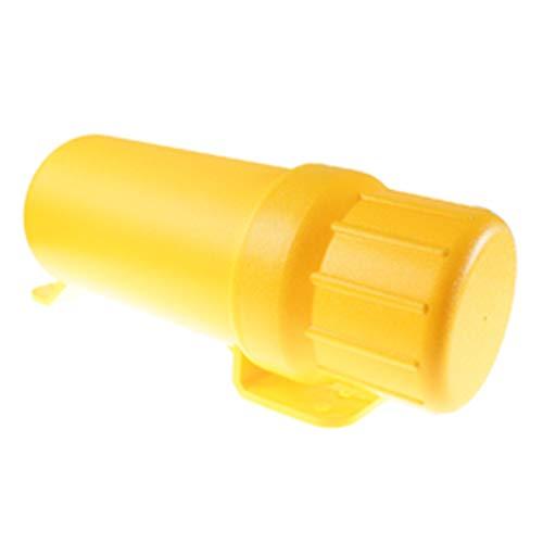Vernacular Accesorios para motocicletas de motocicletas de Motos Universal Off-Road Motos Impermeable Tubo de herramientas Guantes de almacenamiento de impermeables (Color : XL Yellow)