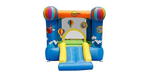 Happy Hop HappyHop 9070N. Castillo Hinchable: Hot Air Balloon Slide and Hoop Bouncer.