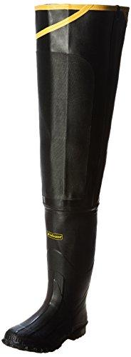 LaCrosse Men's Premium Hip 32 Inch Hip Boot,Black,10 M US