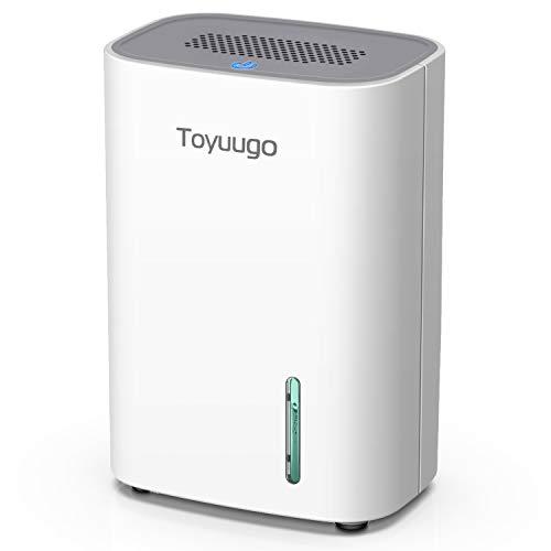 Toyuugo Luftentfeuchter 800ml Dehumidifier mit 2 Modi und Auto-OFF Elektrisch Raumentfeuchter für Wohnung, Badezimmer, Büro, Garderobe
