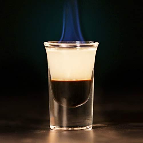 Gafas de tiro, Conjunto de 6, Party Home and Entertainment Dining Dining Beverage Webing Glassware para Brandy, Licor, Bar Decor, 45ml, Clear Jsmhh (Size : Type2(25ml))