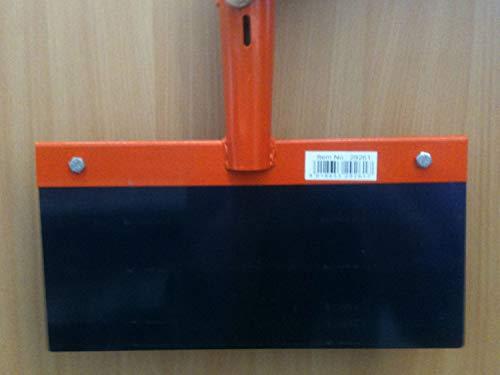 Kerbl 29261 Stoßscharre 30 cm ohne Stiel Blech 1 mm Stärke