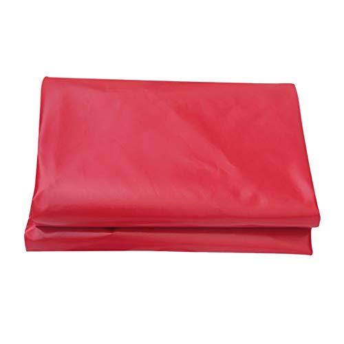 Bâche Lourde PVC Rouge Enduit Tissu Imperméable À l'eau De Pluie Toit Toit Parasol Couverture Pluie Célébration 450 / (Taille : 2x3m)