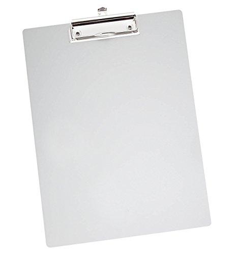 Wedo 057854 Porte-bloc A4 en métal - aluminium