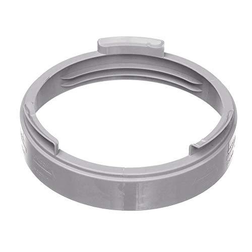 XuCesfs Interfaz de manguera de escape para tubo de escape de 5.1 pulgadas de diámetro conector de brida para aire acondicionado (color: blanco, tamaño: tipo 2)
