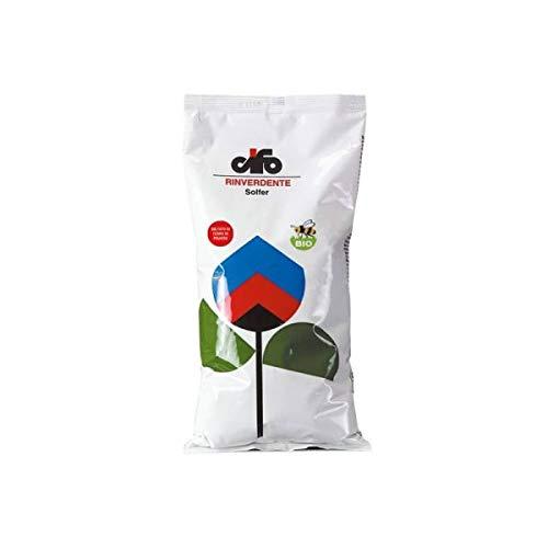 Concime rinverdente solfato di ferro in polvere bio – Solfer Cifo [1,5 kg]