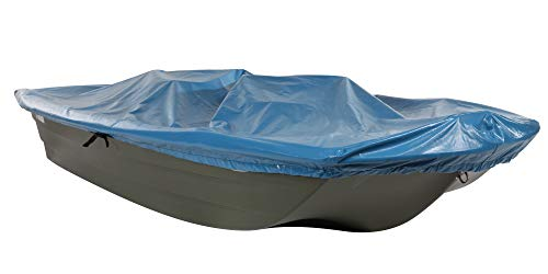 Save %8 Now! Pelican V- Hull Boat Cover, Heavy Duty Waterproof UV Resistant Marine Grade Polyester F...