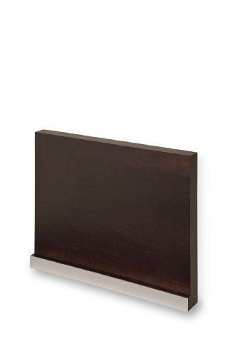dreiBaum Wand-Magnetmesserhalter aus Buche, wengefarbig gebeizt