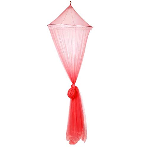 Moustiquaires pour poussettes et landaus (Color : Red, Taille : 23.62 * 98.42 * 334.64inchs)