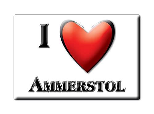 AMMERSTOL (H) FRIDGE MAGNET NETHERLANDS ZUID HOLLAND SOUVENIR I LOVE GIFT PRESENT