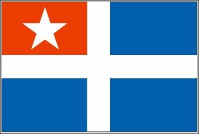 UB Fahne/Flagge Kreta 90 cm x 150 cm Neuware!!!