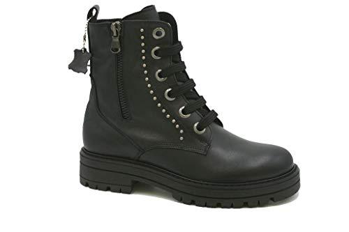 ASSO67960A Boots pour garçon Chaussures Junior Made in Italy Nuova Coll. A/I18 - Noir - Noir, 31 EU EU