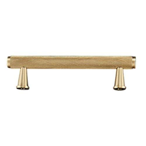 Lade pull keukenkast kast dressoir deur Amerikaanse euro moderne retro slaapkamer zwart helder chroom goud eenvoudig messing decoratieve deurklopper voor het maken van diy