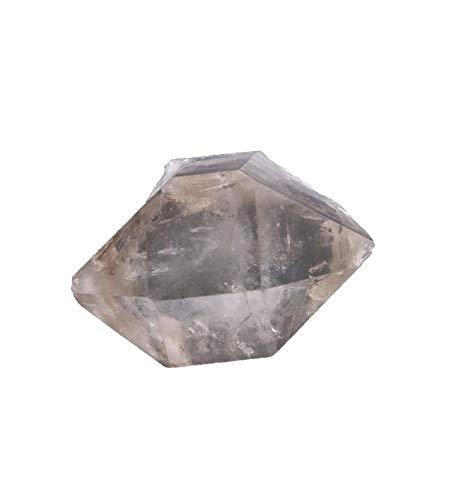 Herkimer Diamant - Cristal de roca (22 x 25 x 13 mm, doble punta)