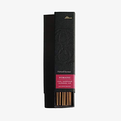 Ume Nomadic: Quality Herbal Incense Sticks (roots, sandalwood, cardamom, oud) plant-based natural incense sticks. Qi Flow, Grounding