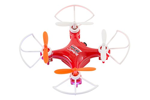 XciteRC 15007200 - Ferngesteuerter RC Quadrocopter Rocket 55XXS 3D 4-Kanal RTF Drohne, rot
