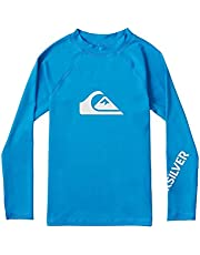 Quiksilver All Time Jr Licra de Manga Larga Niños