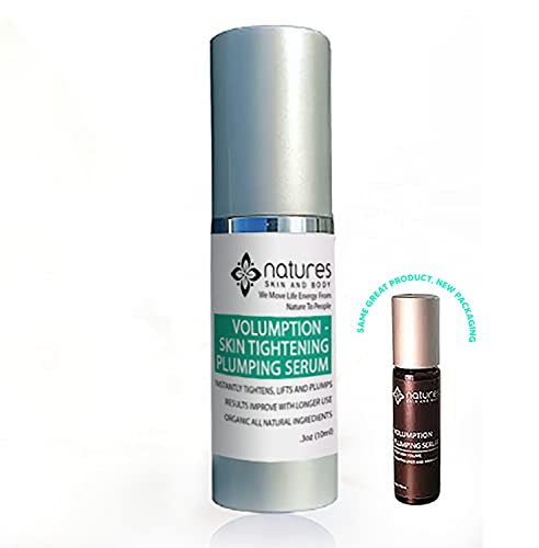 Volumption-A Plumping-Skin Tightening Serum-That Instantly Tightens, Lifts And Plumps-Diminishing Fine Lines, Wrinkles Around Mouth, Face And Neck-All Natural Ingredients-Best Anti-Aging Serum