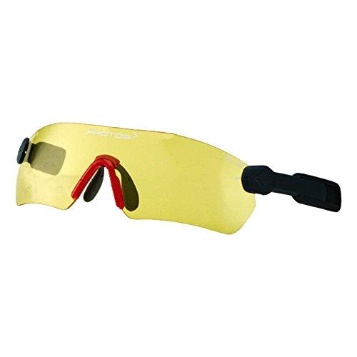 Protos 204090-1-50 Schutzbrille für Helm in gelb, M