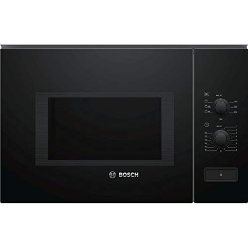 Micro ondes Grill Encastrable Bosch BEL550MB0 - Micro-Ondes + Grill Integrable Noir - 25 litres - 900 W