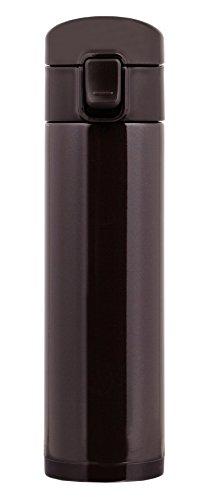 パール金属 水筒 ワンタッチ 直飲み マグ 350ml チョコレート HB-3909