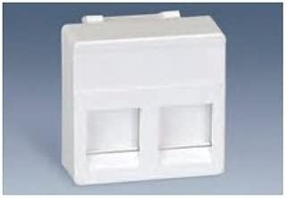 Simon - 27486-35 placa 2 rj-45 blanco nieve Ref. 6552765075