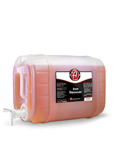 Adam's Iron Remover 5 Gallon - Iron Out Fallout Rust Remover Spray For Car Detailing | Remove Iron Particles in Car Paint, Motorcycle, RV & Boat | Use Before Clay Bar, Car Wax or Car Wash