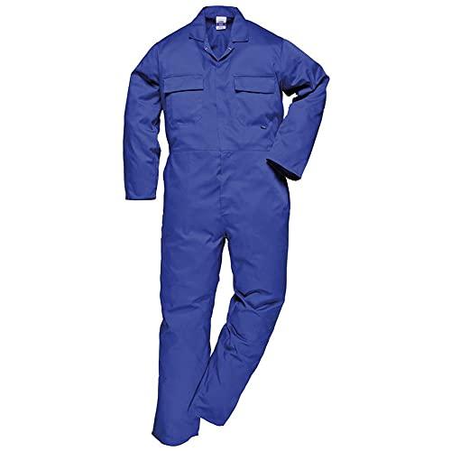 CJF Vestito da Caldaia Tuta da Tuta Tuta Leggera da Lavoro Perno Economia Uomo Indietro Elasticizzato Cintura Resistente Abiti da Lavoro Funzionali,4XL