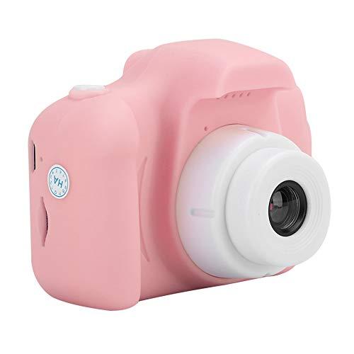 Garsentx 1080P 720P HD Cámara para niños Cámara de Video Digital Juguete Toma de Fotos/Grabación de Videos/Fotos de Bricolaje Soporte ME / 2000/2003 / p/Vista / win7 / Mac os Linux(Pink)