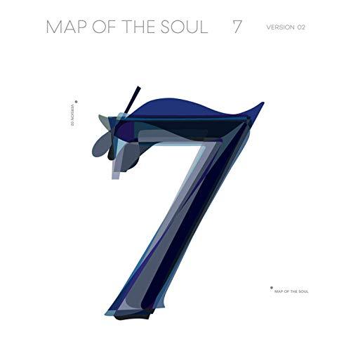 BigHit Ent BTS Map of The Soul : 7 Álbum [2 ver] póster plegado + 20 tarjetas de fotos adicionales + regalo al azar