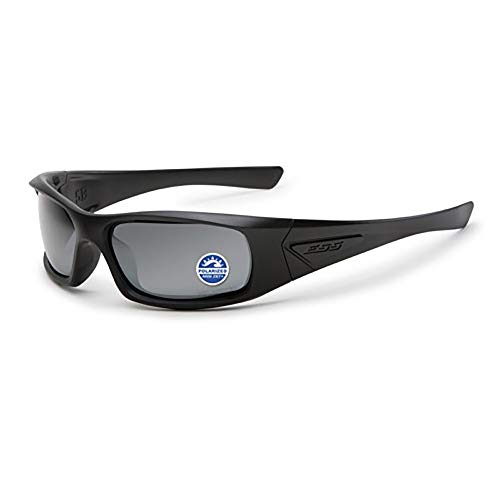ESS Eyewear 5B Sunglasses Polarized Mirror, Grey