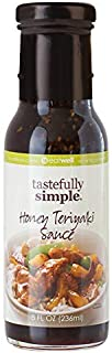 Tastefully Simple Honey Teriyaki Sauce - Use in Stir-Fry, Slow Cooker, Grilling Pork, Poultry and Salmon - 8 Fl oz (1-Pack)