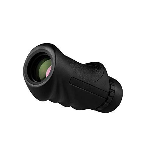 GR-Furniture 10X25 monocular telescope HD compact monocular, waterproof, FMC Prism lenses scope, approach one hand to adults, outdoors, bird watching, hunting, camping, travel