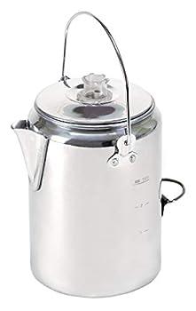 Stansport Aluminum Percolator Coffee Pot 9 Cups