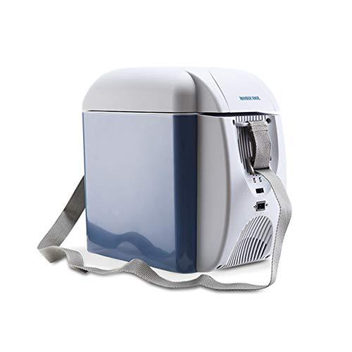 réfrigérateur de Voiture Boîte Froide et Chaude Portable Bandoulière réglable Congélateur à insuline Mini-réfrigérateur Idéal pour Les Voyages et Le Camping [Classe énergétique A ++] 7L, 12V