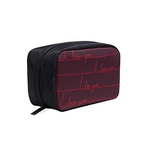 Trousse de toilette à fermeture à glissière Art Creative Coloré Art Medical Cosmetic Bags Travel Professional Makeup Bag Organisateur personnel Trousse de toilette Cosmetic Bags Multifunction Case C