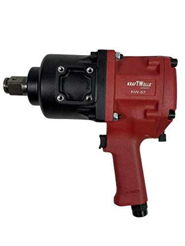 Kraftwelle Atornillador de impacto de aire comprimido de 1 pulgada, 2800 Nm, en maletín, coche, camión, industria, profesional, KW-87, cambio de neumáticos