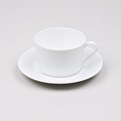 Table Passion - Petit dejeuner 39 cl porcelaine blanche (lot de 6)