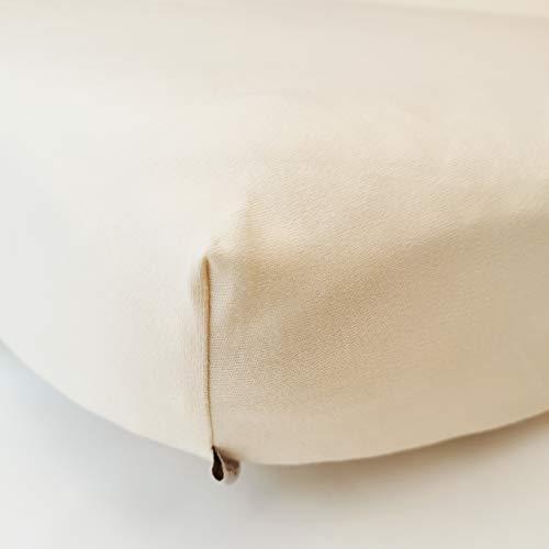 ÜneeQbaby Wasserdichtes, voll ausgestattetes Bettlaken - Bio-Baumwolle, GOTs, Oeko-TEX Klasse I-zertifiziert, Matratzenbezugschutz für Babybett, Kleinkind und Kinderbett