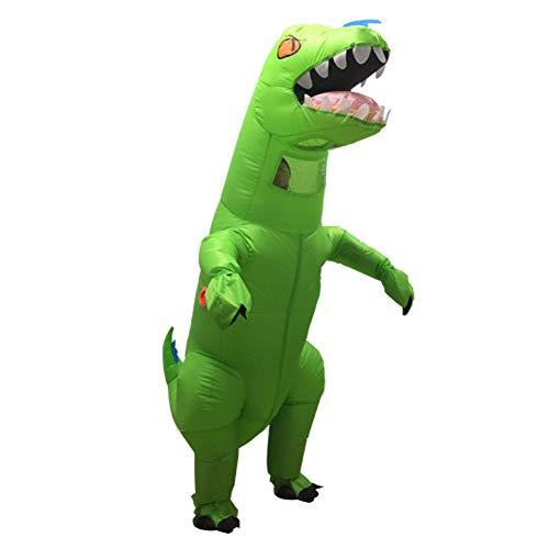 Asitlf Disfraz de explotar, Disfraz de Dinosaurio Inflable de fantasía Disfraz de Cosplay Mono Fiesta de Disfraces de Halloween