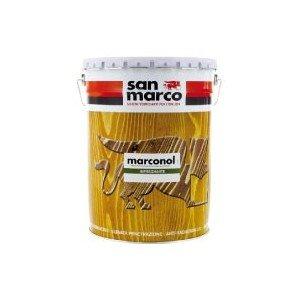 Foto di San Marco MARCONOL Impregnante Protettivo colorante per legno esposto all'esterno, colore: Noce chiaro, size: 5 lt