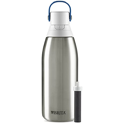 Brita Stainless Steel Filtered Water Bottle