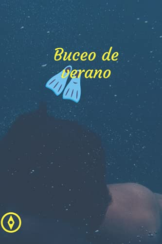 BUCEO DE VERANO: Registro de buceo hecho a mano, Registro de buceo el mejor momento del mundo, Tamaño de 6 x 9 pulgadas. Primera edición de Modern Style