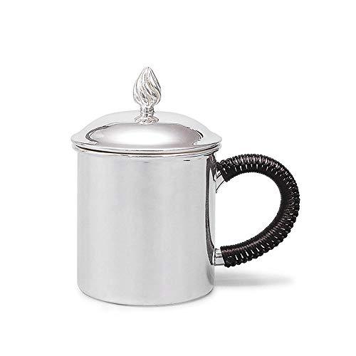 999 Sterling Silver Tea Mug Mug Handmade Sterling Silver Tea Pot