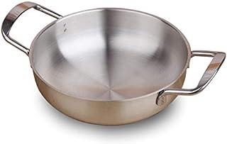 Cacerolas Olla De Cocción De Acero Inoxidable De 20 Cm Olla De Sopa De Olla Para Cangrejos Mariscos Utensilios De Cocina Para Cocina De Inducción